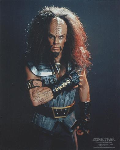 Klingon Captian Klaa Todd Bryant